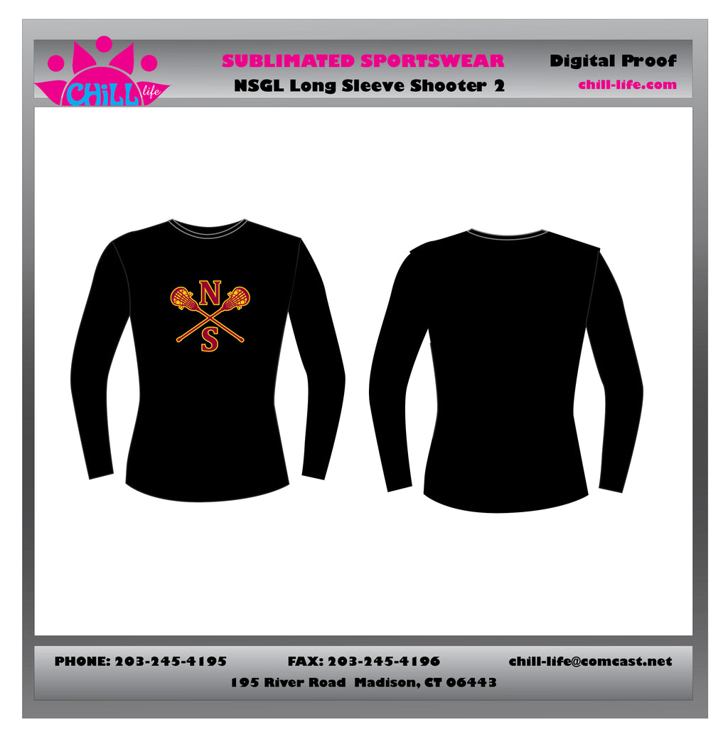 NSGL LONG SLEEVE PERFORMANCE SHIRT