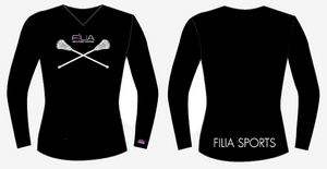 Custom Filia Sublimated Long Sleeve Shooter