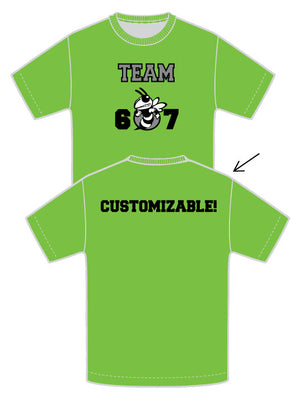 Glo Green Team 607 Tee