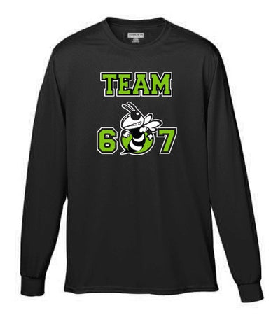 Long Sleeve Moisture Wicking Shooter Shirt-unisex sizing