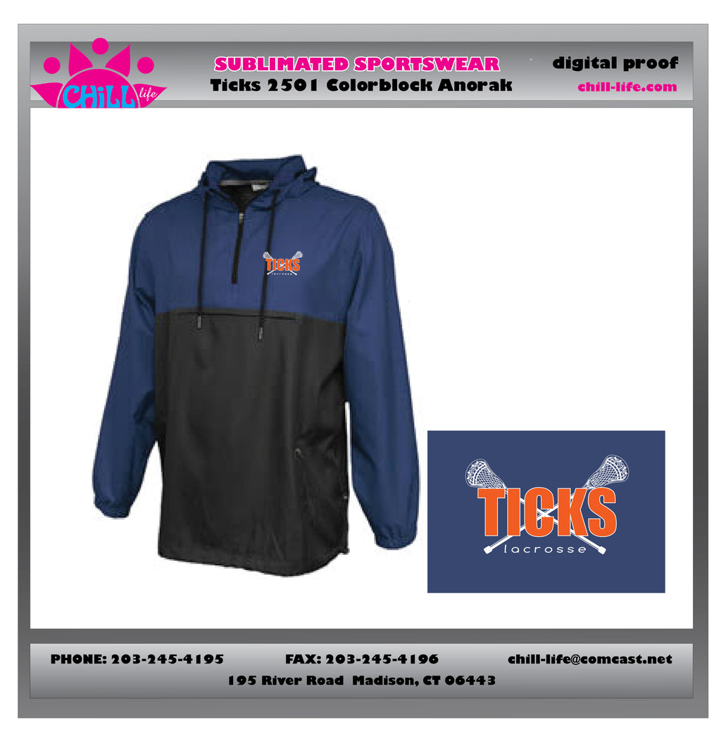 Ticks Lacrosse Anorak