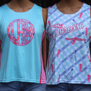 Sublimated Reversible Lacrosse Pinnies