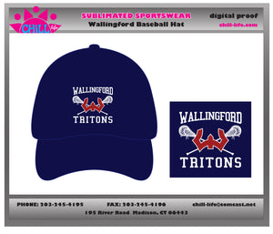 Wallingford Lacrosse Baseball Cap