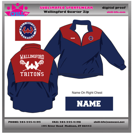 Wallingford Sublimated Lacrosse Jacket