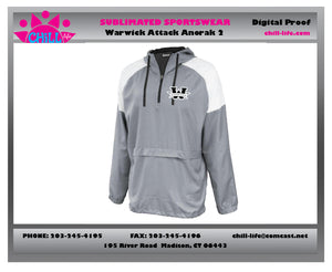 Warwick Youth Basketball Anorak-W logo