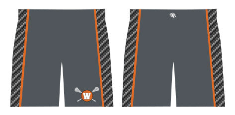 BUNDLED 3 Pc SET-Watertown Lacrosse Boys Uniform Short