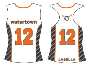 BUNDLED SET-Watertown Lacrosse Girls Reversible Uniform Top