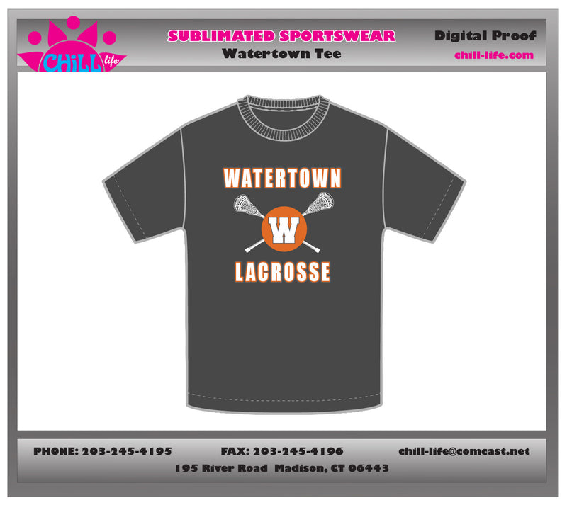 Watertown Lacrosse Tee