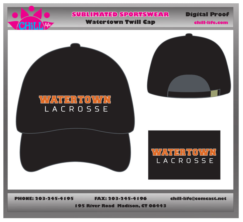 Watertown Lacrosse Baseball Cap