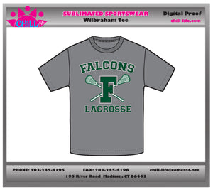 Falcons Basic Athletic Gray Cotton Tee