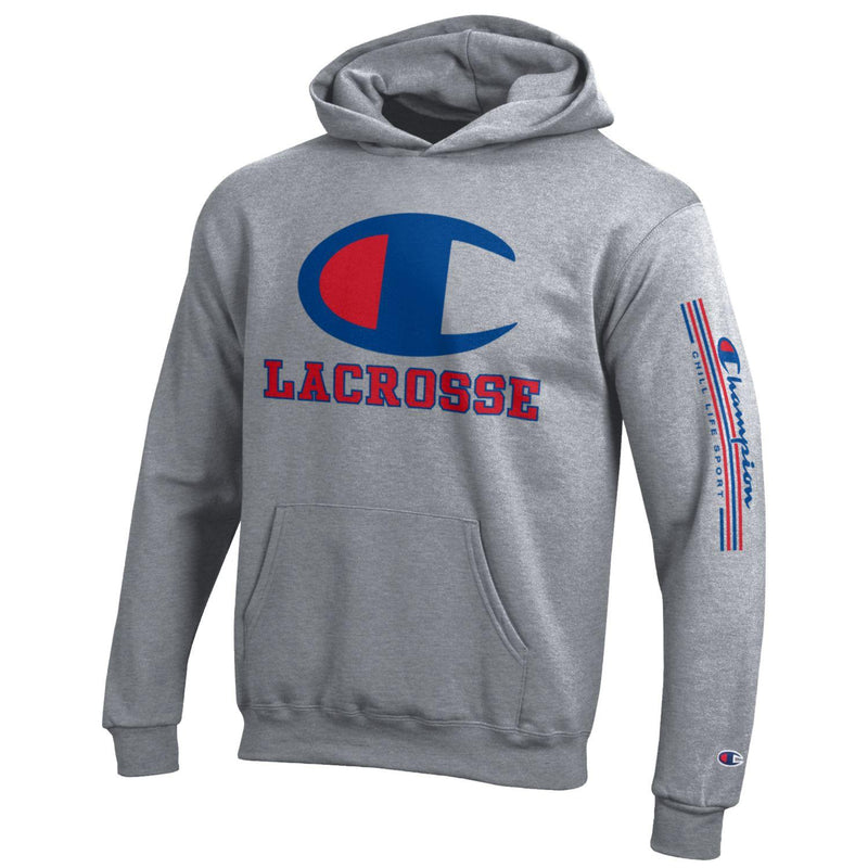 CHILL-LIFE and CHAMPION LACROSSE HOODIE