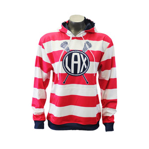Girls Sublimated Lacrosse Hoodies