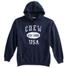 Crew Sweatshirt-Vintage Distressed Established Date USA