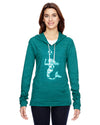 Mermaid with Soccer Ball Soccer Eco Jersey Pullover Hoodie Animal Sports Collection