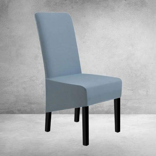 Housse de Chaise Large Gris Bleue - Housse Design