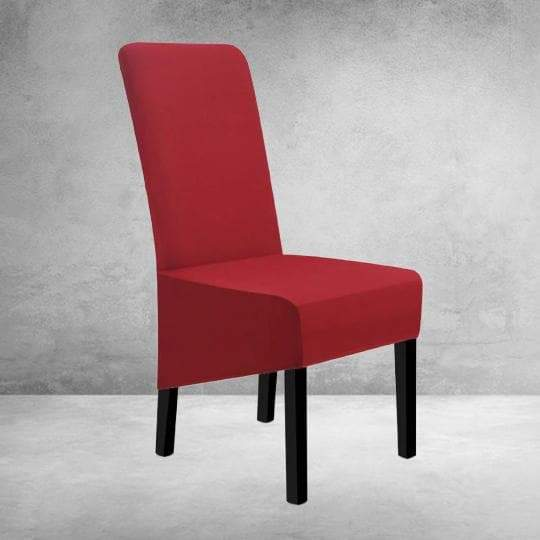 Housse de Chaise Large Rouge Vin | Housse Design