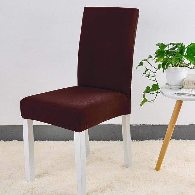 Housse de Chaise Marron | Housse Design