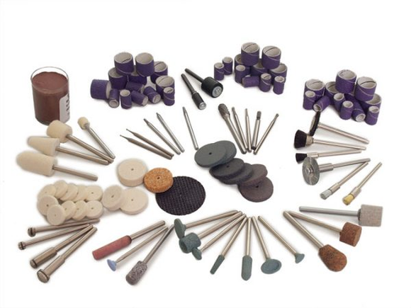 Burrs, Drill Bits, Abrasive Stones, Sanding Products, Carving Cutters and other Rotary Tool Acc.