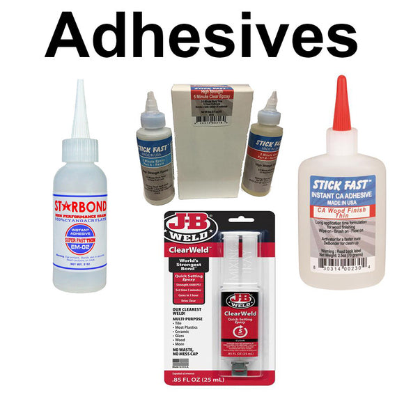 Knife Adhesives