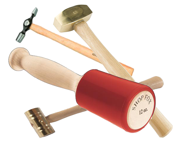 Hammers, Mallets, Prybars & Punches