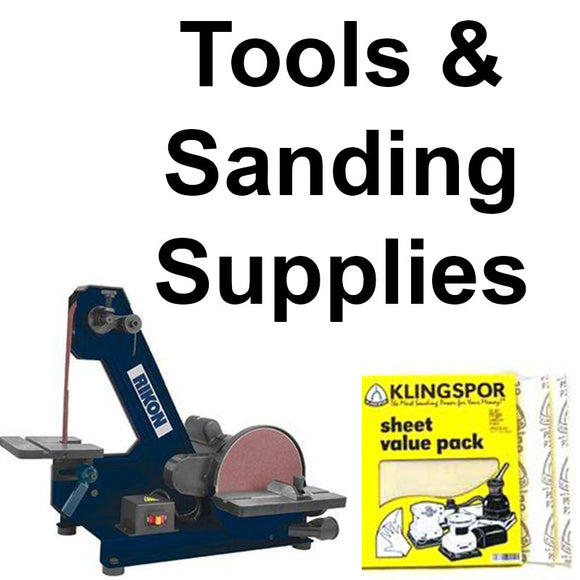 Knife Making Tools & Sanding