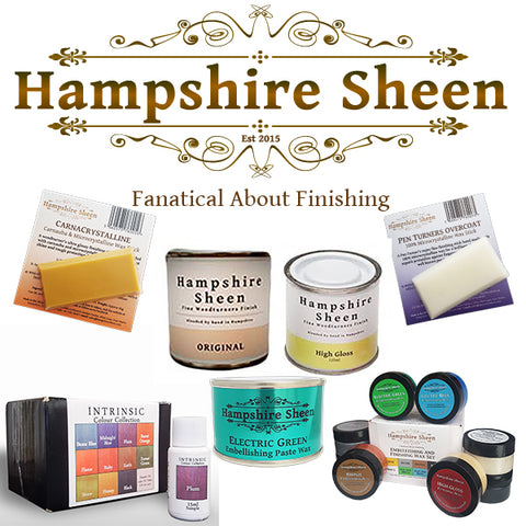 Hampshire Sheen Products Collage