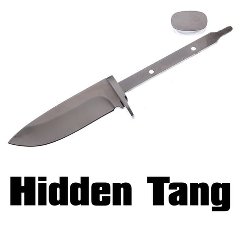 Hidden Tang Knife Blanks Kits