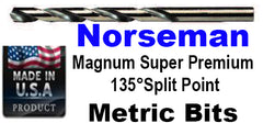 Norseman Premium 135 degree Split point Metric