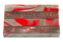Red Rocks Acrylic Pen Blank