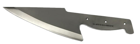 Rolling Knife Ugly Blank Chef knife
