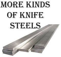 More kinds of knife steels