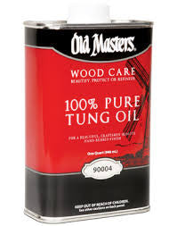 Old Masters 100% Tung Oil - Quart