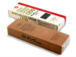 King Japanese Waterstone 1200 Grit Deluxe - WoodWorld of Texas