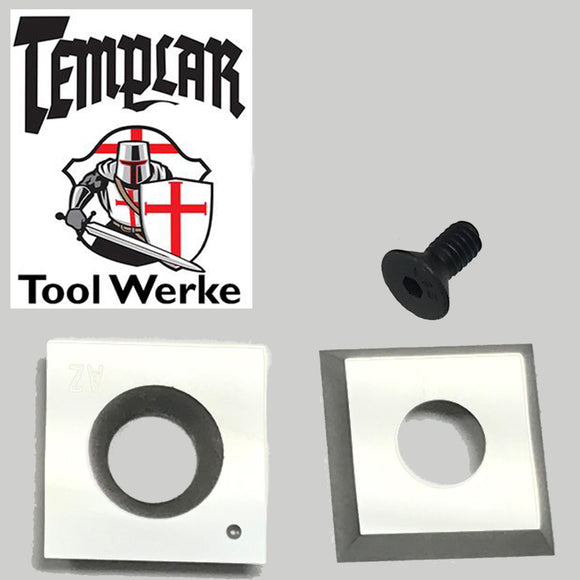 Templar Tool Werke - Mega Carbide Spindle Tool 15 mm Square -Square / Radius Carbide Cutter & Screw