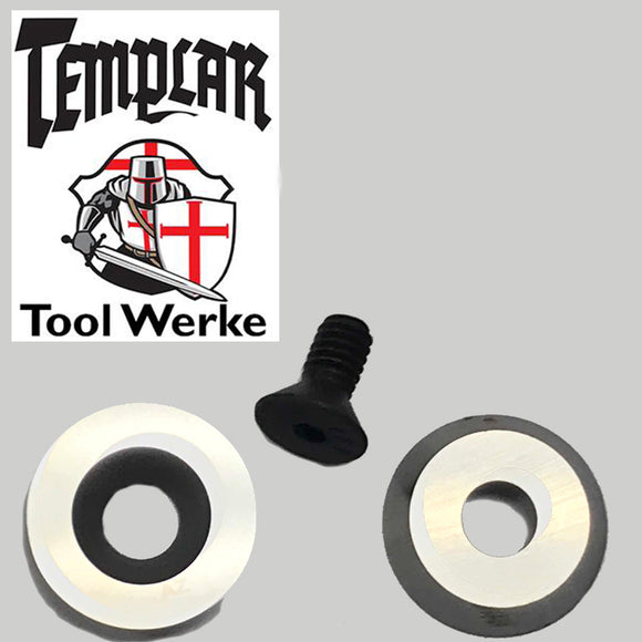Templar Tool Werke - Mega Carbide Hollowing Tool 16 mm Round Carbide Cutter & Screw