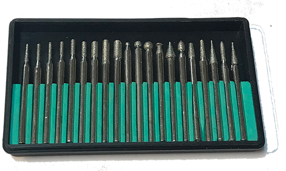Diamond Burr Set - 1/8