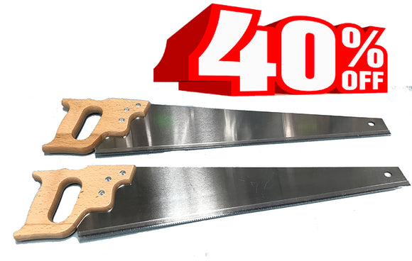 German Hand Saw - Cross Cut or Rip Saw - 7 tpi - 24