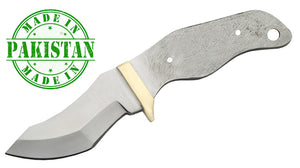 "Economy - Panhandle Skinner Blade w/ Brass Bolster 6.13"" Overall - WoodWorld of Texas"