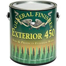 General Finishes Exterior 450 Water Based Clear Varnish