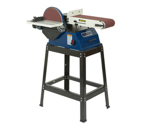 "Rikon 6x48"" Belt Sander / 10"" Disc Sander with Stand"