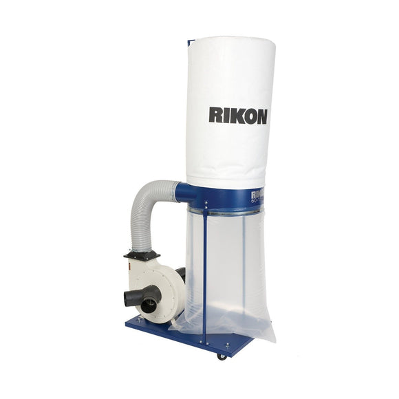 Rikon 60-150 1-1/2 HP Dust Collector