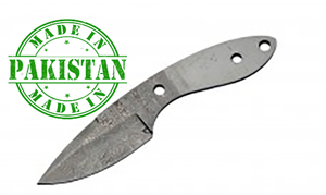 "Economy - 6.75"" DROP POINT HUNTER BLADE Damascus - WoodWorld of Texas"