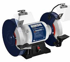 "Rikon 8"" Slow Speed (1750 rpm) Grinder 1/2 hp # 80-805"