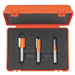 CMT 3 pc Plywood Slot Cutter Set for Metric Size Plywood - WoodWorld of Texas