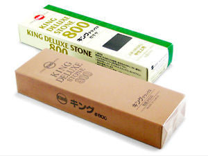King Japanese Waterstone 800 Grit Deluxe - WoodWorld of Texas