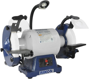 "Rikon 8"" Slow Speed (1725rpm) Grinder 1hp #80-808"