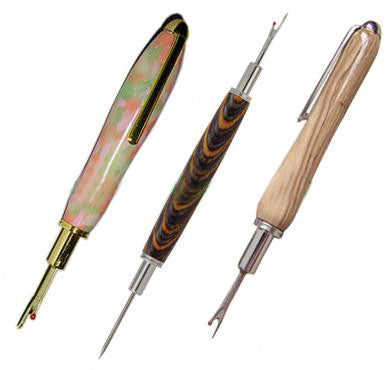 Seam Ripper, Stiletto & Clip - Gold - WoodWorld of Texas