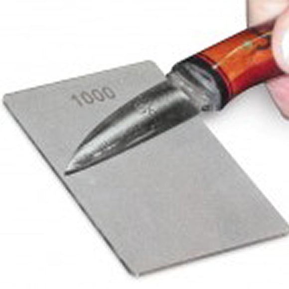 Trend Diamond Credit Card Stone Sharpener (Fine & Coarse) DWS/CC/CX 300/180 - WoodWorld of Texas