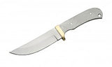 "Economy - 8.75"" DROP POINT BLADE W/ BRASS GUARD - WoodWorld of Texas"