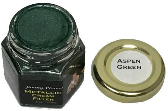 Jimmy Clewes Metallic Cream Filler - Aspen Green